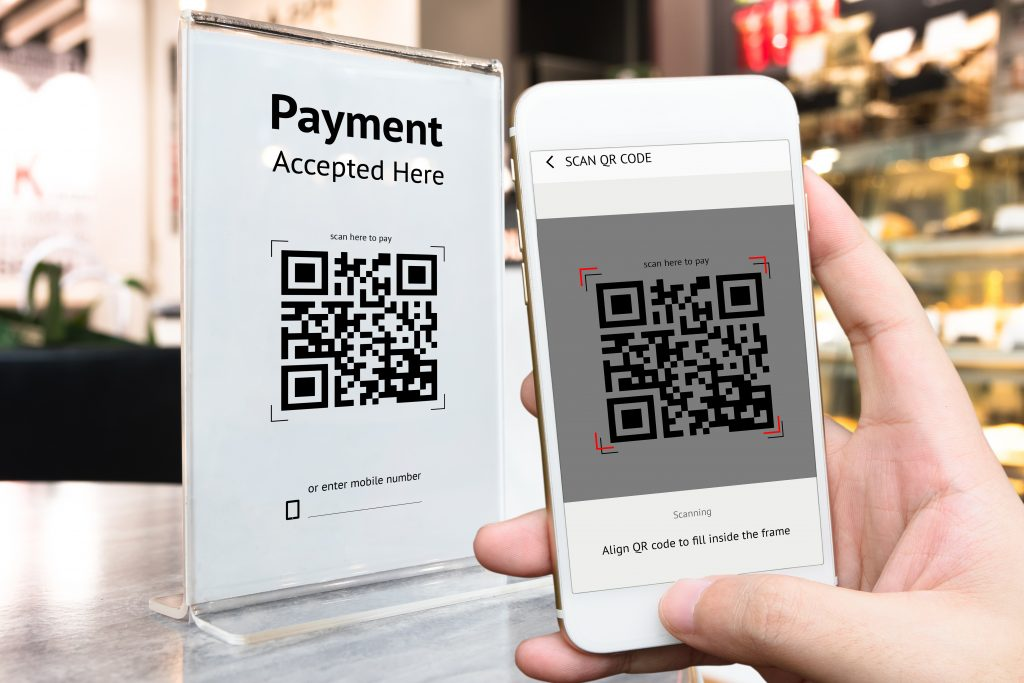 Alipay QR code payment